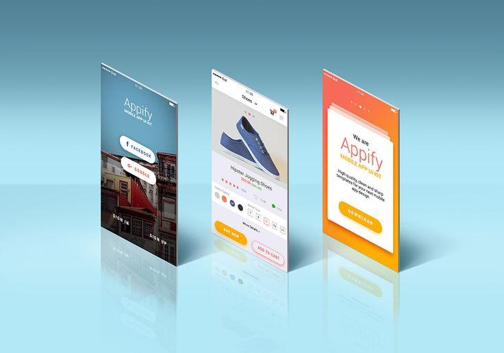 App Screens Standing Mockup Graphicsfuel Mockup Templates Web Design Mockup