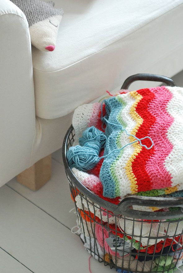 Crocheting: Crochet Baskets, Crochet Blankets, Colors Combos, Crochet Stuff, Pretty Colors, Yarns, Colors Combinations, Baby Blankets, Crochet Knits