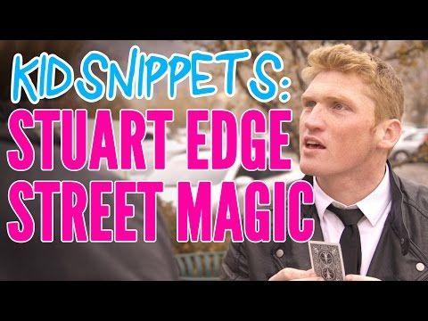 Stuart Edge becomes musician, no, magician in Kid Snippets video #KidHistory #StuartEdge #Magic