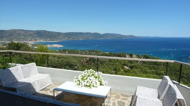 Provence, Gaou Benat, villa, pool, panoramic... - HomeAway Bormes-les-Mimosas