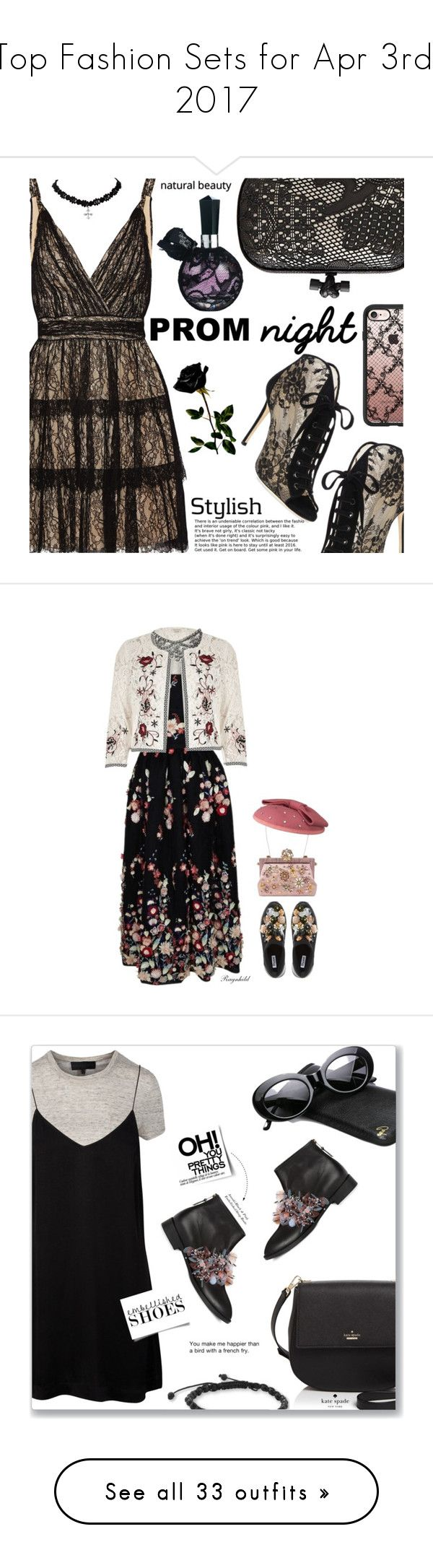 """""""Top Fashion Sets for Apr 3rd, 2017"""" by polyvore ❤ liked on Polyvore featuring Alice + Olivia, Jimmy Choo, Bottega Veneta, Casetify, River Island, The 2nd Skin Co., Dune, Dolce&Gabbana, Anouki and Kate Spade"""