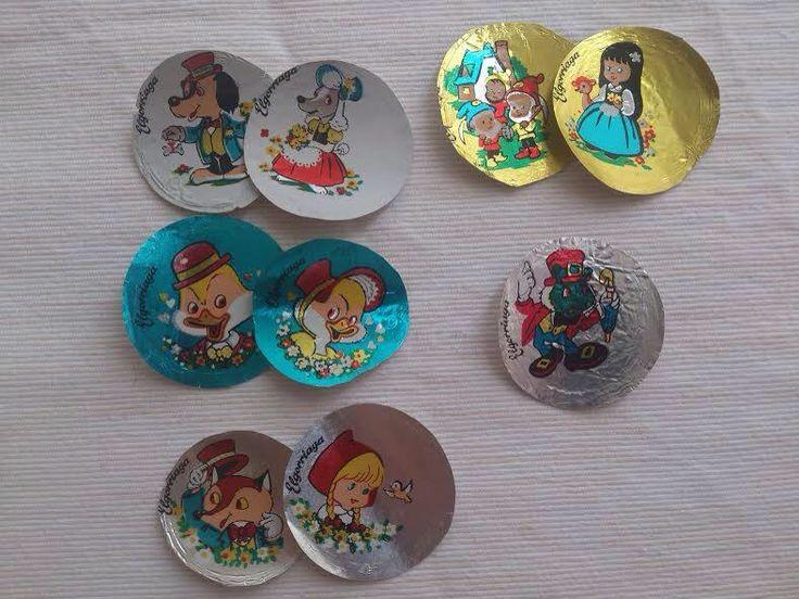 Aquellas monedas de chocolate con papeles preciosos