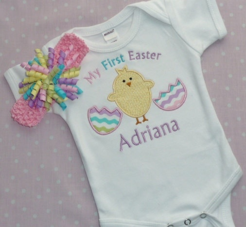 My First Easter Onesie from Etsy