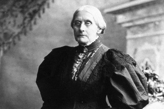 Susan B. Anthony, Key Women's Suffrage Spokesperson: Susan B. Anthony, circa 1898