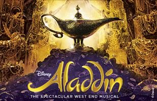 awesome Aladdin theatre tickets - Prince Edward Theatre - London
