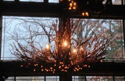 Allegheny  5 Light Rustic Twig Chandelier  by CraftyGeminiCreation