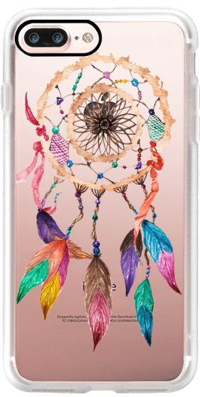 Casetify iPhone 7 Plus Case and other Boho iPhone Covers - Native American Waterclour by BlackStrawberry | Casetify