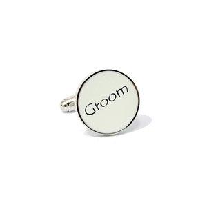 Groom Cufflinks £7.99 - The Wedding Gift Company