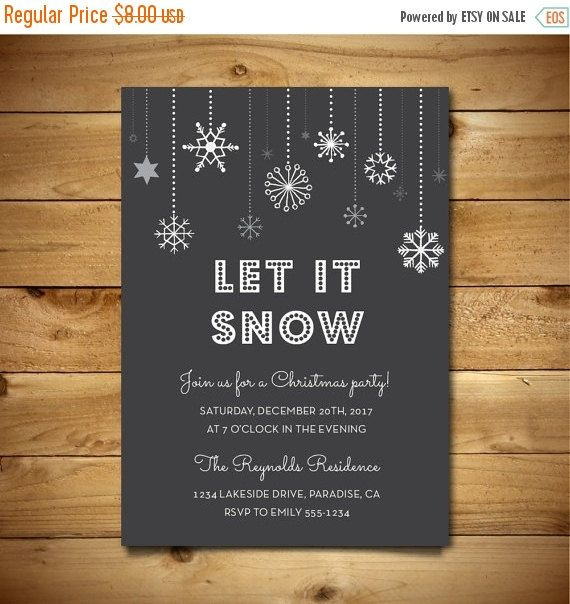 94 best on sale in our etsy shop images on pinterest greeting christmas party invitation printable vintage by birdiydesign stopboris Gallery