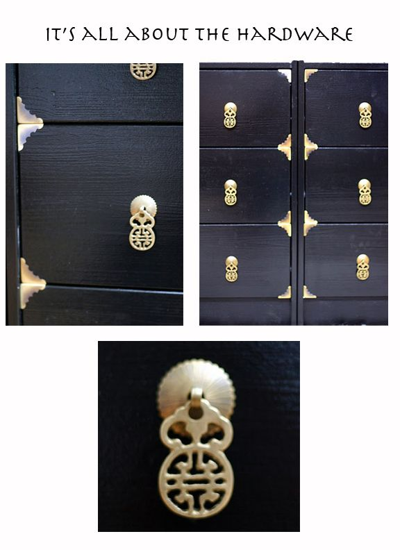 Perfect Rast Cabinets Hack: Black Enamel Paint, Cheap Corner Tacks For + Drawer  Pullsu003dreally Upscale Asian Dresser.