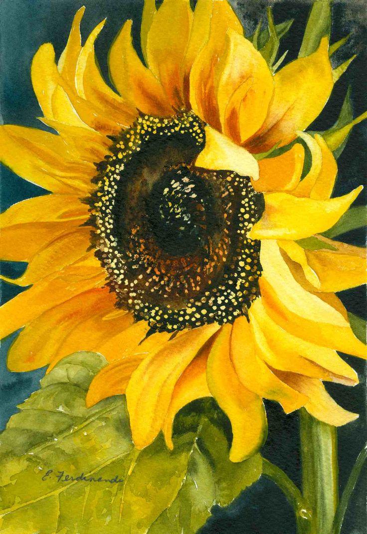 Artist: Elaine Ferdinandi, Title: 'Sun Seeker'