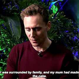 """""""How did you spend your birthday?"""" Gif-set (by t-hiddles): http://maryxglz.tumblr.com/post/158071613672/t-hiddles-how-did-you-spend-your-birthday"""
