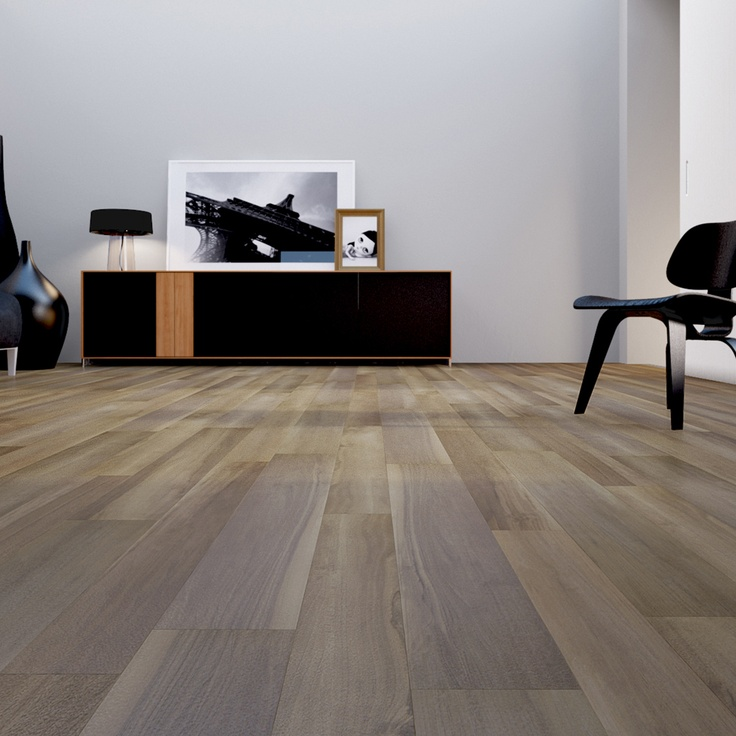 Your tile flooring has a vintage wood feel with Monte Napoleone by Del Conca  #design #wood