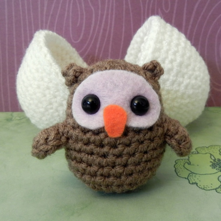 Amigurumi Owl Family : 130 best images about Crochet Amigurumi - Owl on Pinterest ...