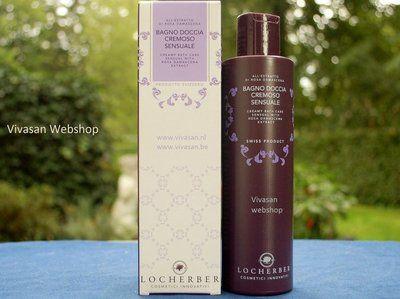 Locherber Bad en Douche crème Sensuale van Locherber verzorgt en reinigt het lichaam op milde wijze. Extracten van de damaskroos geven rust en een aura van ontspanning en sensualiteit.