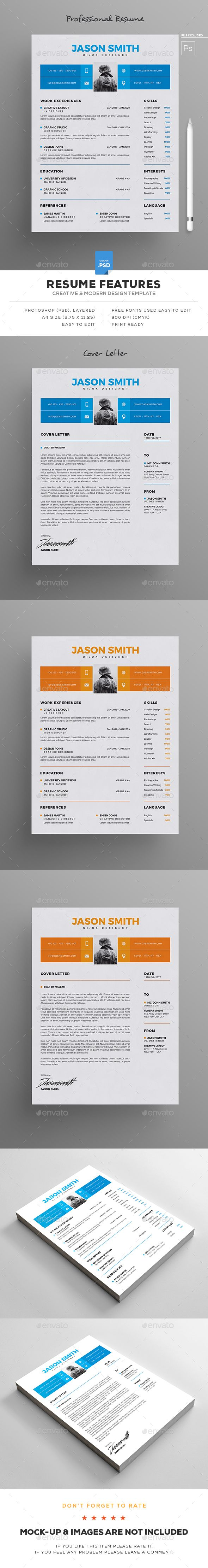1000  ideas about resume design on pinterest