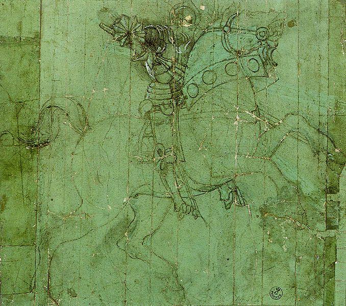 File:Paolo uccello, studio di cavaliere.jpg