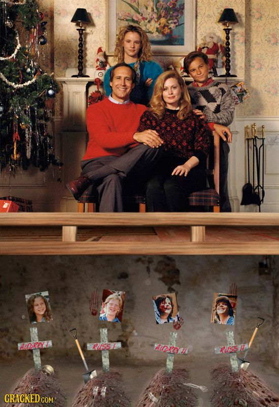 30 Unseen Dark Sides of Famous Christmas Movies #Vacation