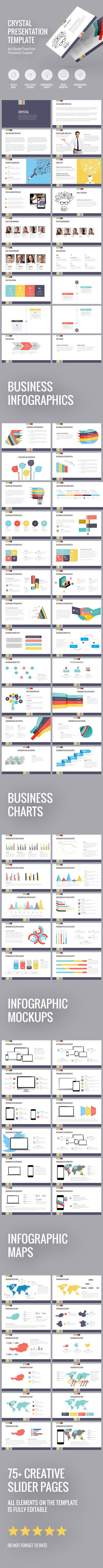Crystal presentation template (PowerPoint Templates)