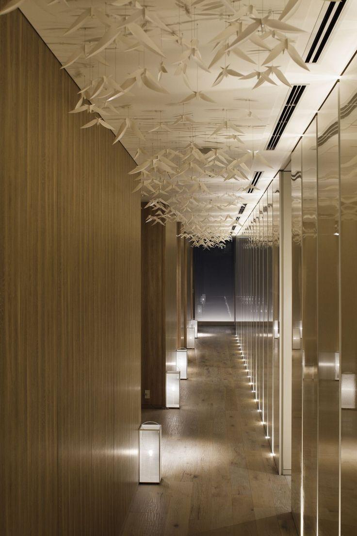 70 best corridor lighting inspiration images on for Hotel hallway decor