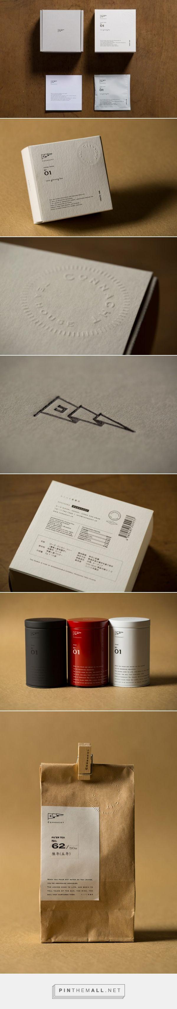 packaging / package design | Cqnnacht (コノハト茶葉店)