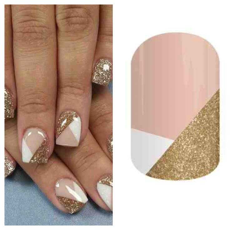Nail art gold white nude nails. Crisscross, Jamberry nails, nail ideas Jazmyn.jamberrynails.net Obsessed spring/summer 2015