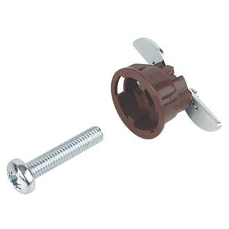 GripIt Brown Plasterboard Fixings 20 x 20mm 8 Suitable for use in 9.5 to 15mm thick plasterboard. Ideal for bathroom fittings, radiators, water heaters and cabinets. Supplied with screws. http://www.MightGet.com/january-2017-13/gripit-brown-plasterboard-fixings-20-x-20mm-8.asp