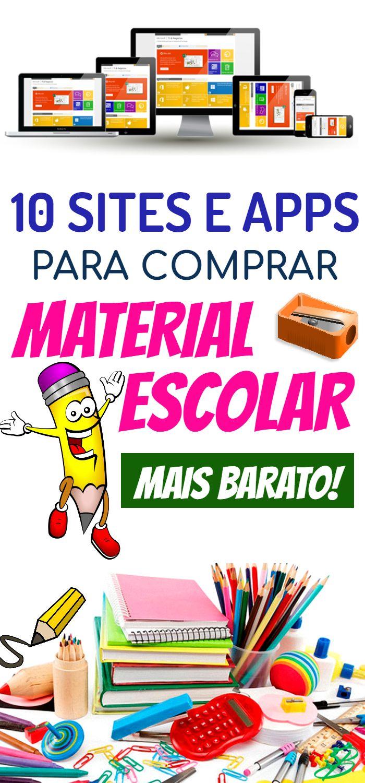ae5f0e4f8e42 10 sites e apps para comprar material escolar mais barato | DICAS DE  FINANÇAS E DINHEIRO | Homeschool