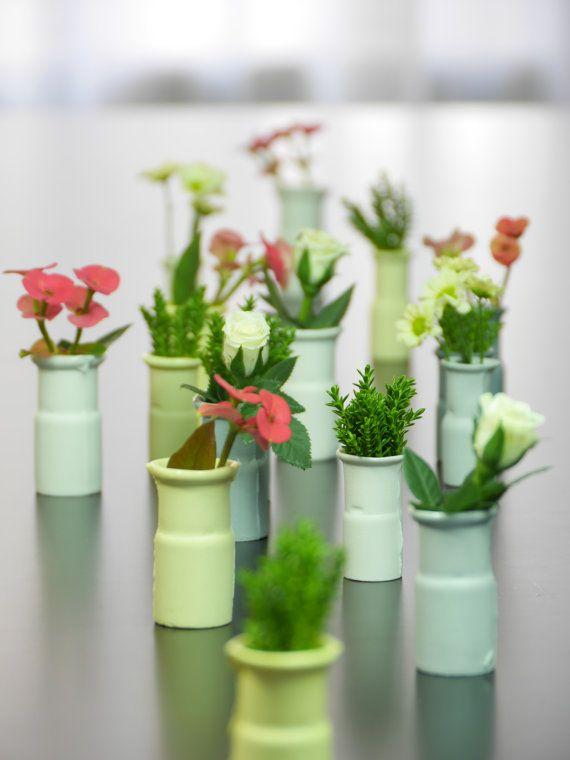 Mini porcelain vases small vase industrial design by WerkStaat