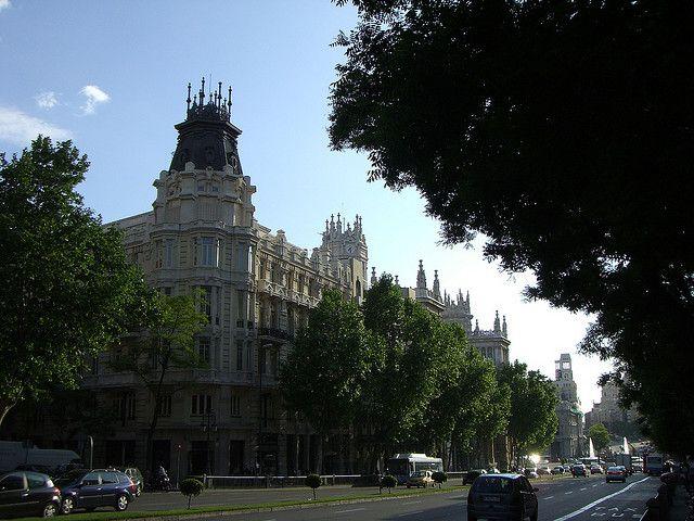 SPAIN, MADRID, Calle Alcalá 54 - Casa Palazuelo