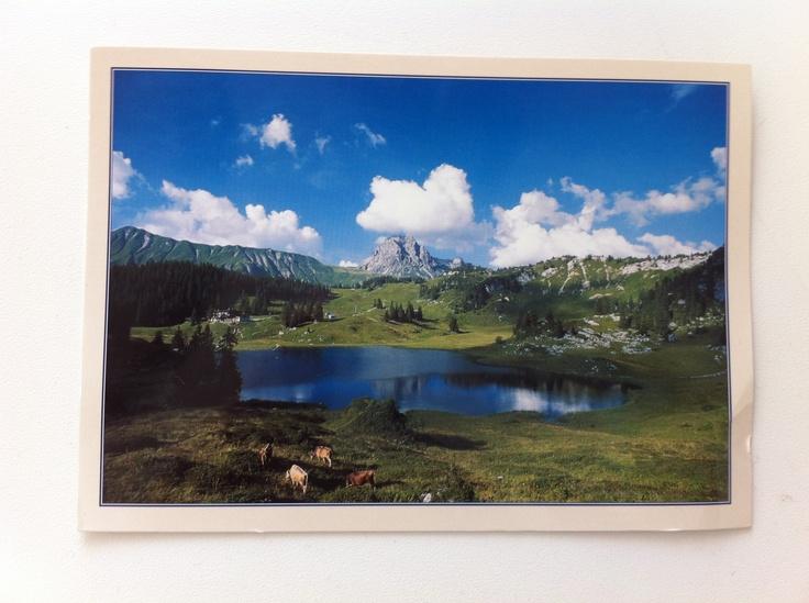 Vorarlberg Österreich Postkarte