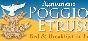 Poggio Etrusco Bed and Breakfast, the best place to stay in Tuscany, Italy.  It feels like you at home with your family!