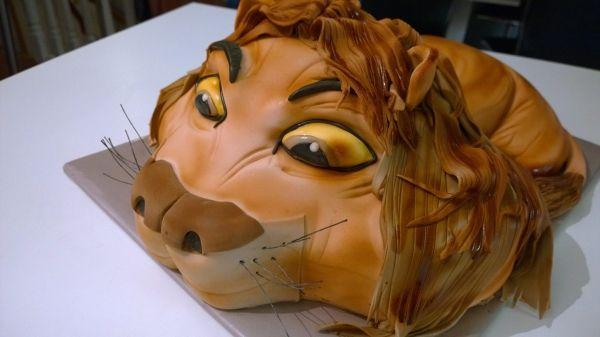 Leijona-kakku - Kiitos Triinu! #mitätahansaleivotkin #leivojakoristele #droetker #kakku #leivonta #kilpailu