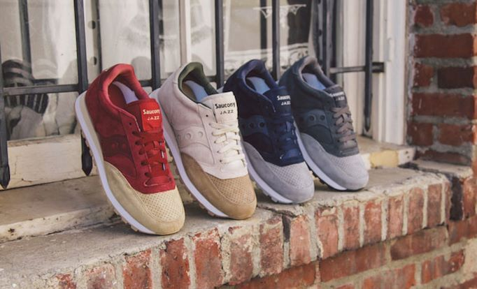 LIKE US AT: facebook.com/SNEAKERSTATE - #Saucony injects some luxury into the Jazz Original