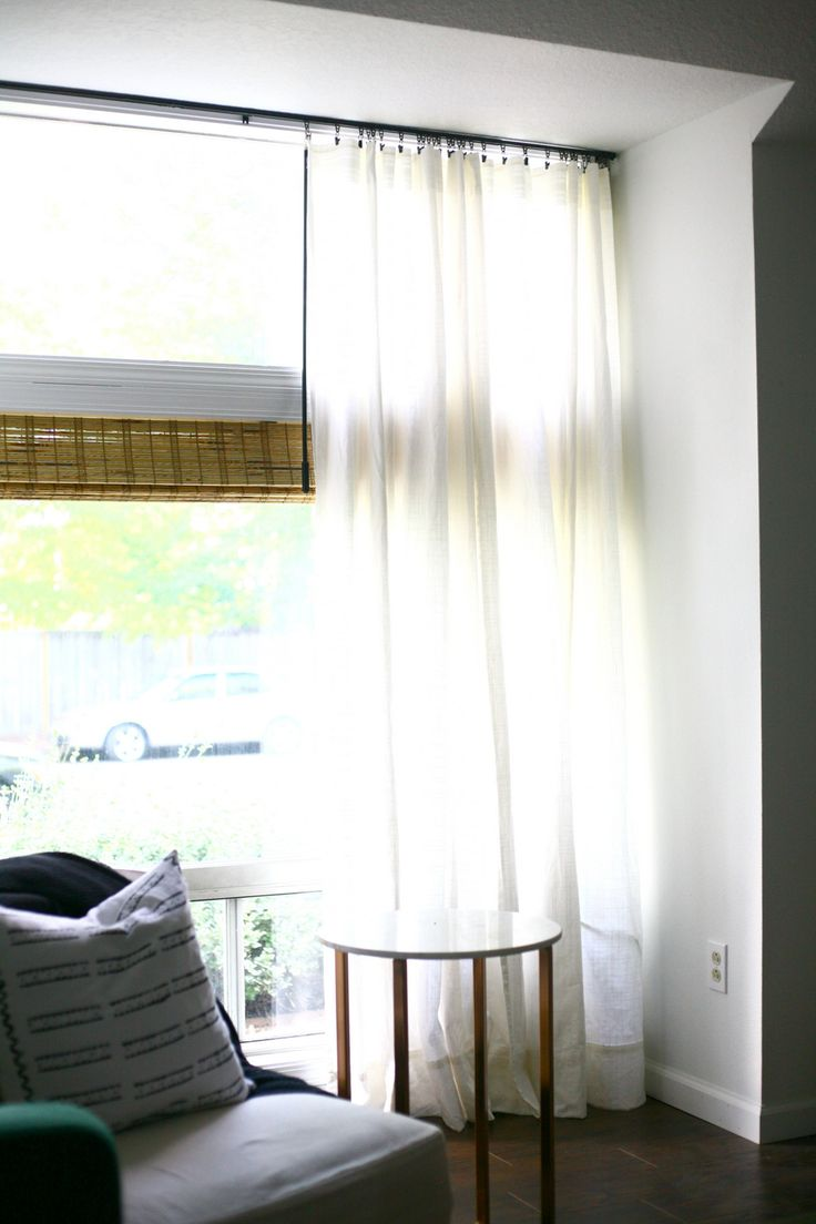 Best 20 Ceiling Mount Curtain Rods Ideas On Pinterest