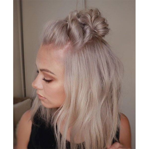 We love a versatile style and this half-up bubble hawk is exactly that! Watch the video and then get the step-by-step breakdown to learn how it's done.