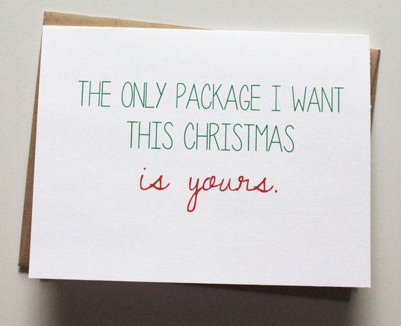 Funny Christmas Gifts For Boyfriend.Funny Christmas Card Naughty Christmas Card Holiday Card