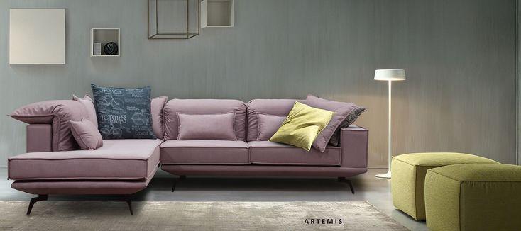 Άρτεμις γωνιακός καναπές