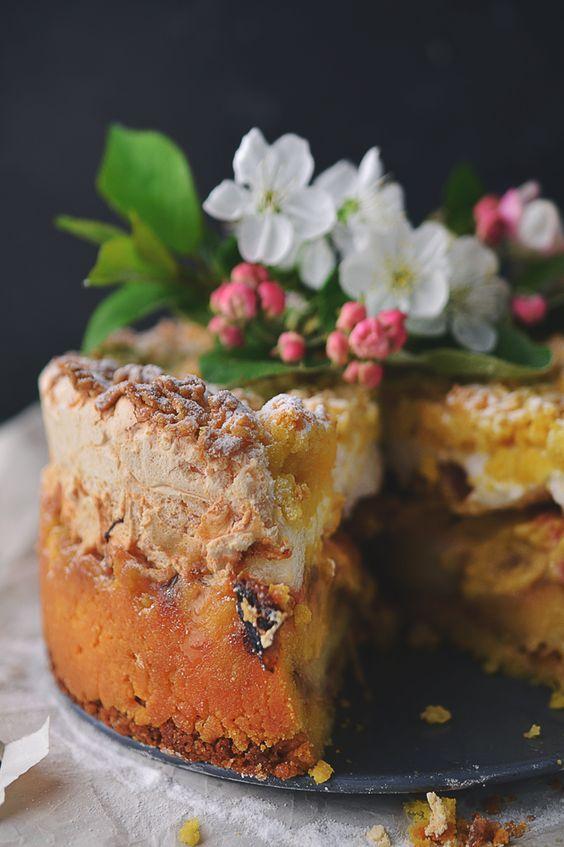 Ciasto z jabłkami i rabarbarem Najlepszy, męski blog cukierniczy! Najlepsze ciasta, torty i desery spod męskiej ręki!