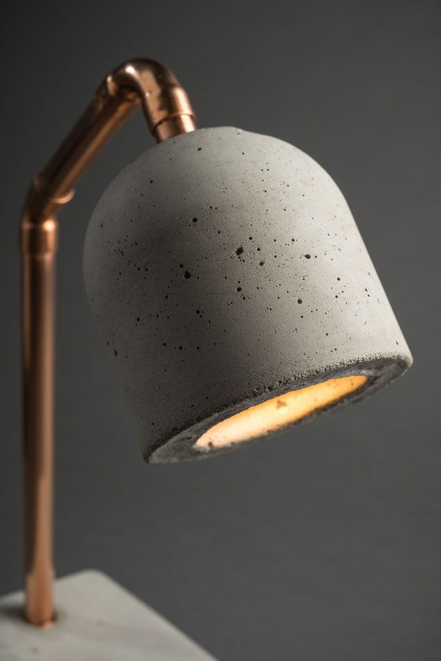 Beton Nachttischlampe Bedside Lamp In 2020 Nachttischlampe Lampe Lampe Beton