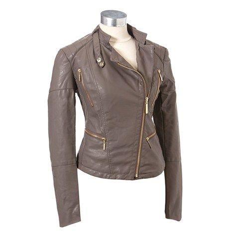 Faux Leather Moto Jacket 165867806 | Missy | Women | Burlington Coat Factory