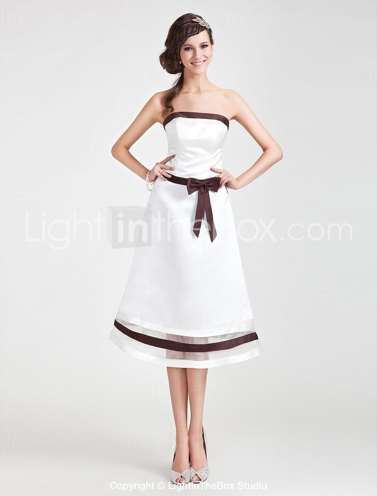 ANCHORAGE - Robe de Demoiselle d'Honneur Organza Satin - € 80.98