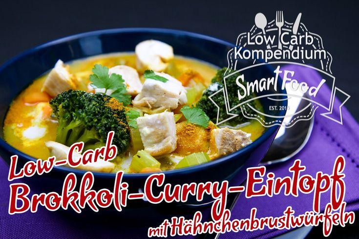 DerLow-Carb Brokkoli-Curry-Eintopfmit Hähnchenbrustwürfeln ist ein herzhafter, pikanter Eintopf, der vor allem zur kalten Jahreszeit geeignet ist.