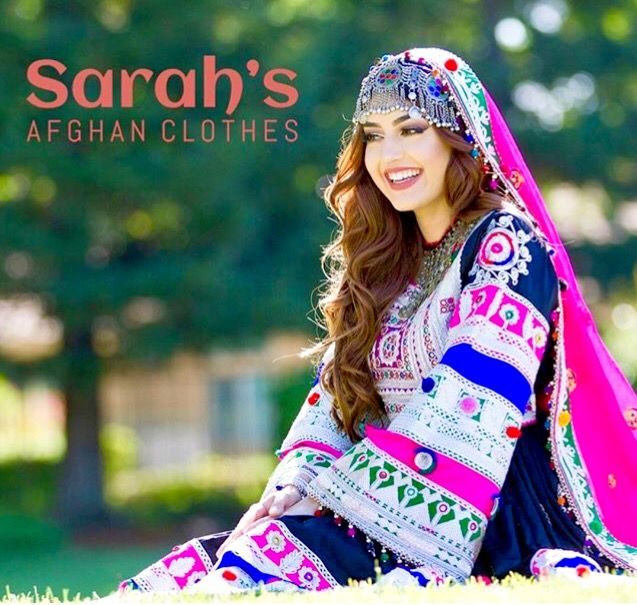 #afghan #national #dress #jewelry #girl