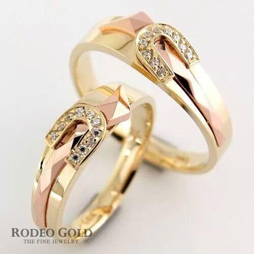 perfect horse shoe rings - Horseshoe Wedding Rings