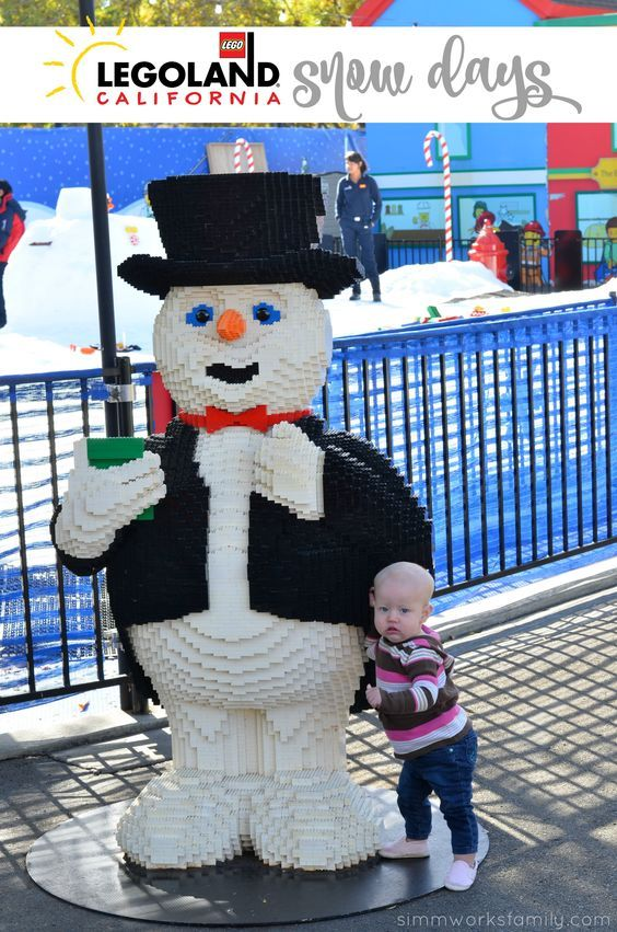 LEGOLAND California Holiday Snow Days Are Here AD #LegolandCA #HolidaySnowDays