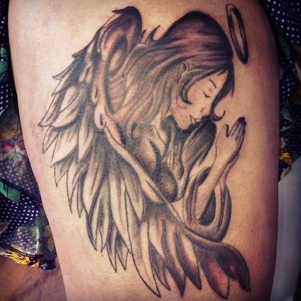 30 Beautiful Angel Tattoos For Girls: Angel Tattoos And Designs
