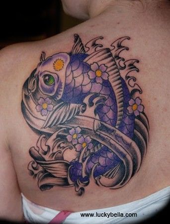 31 best koi dragon and koi fish tattoo images on pinterest for Butterfly koi tattoo