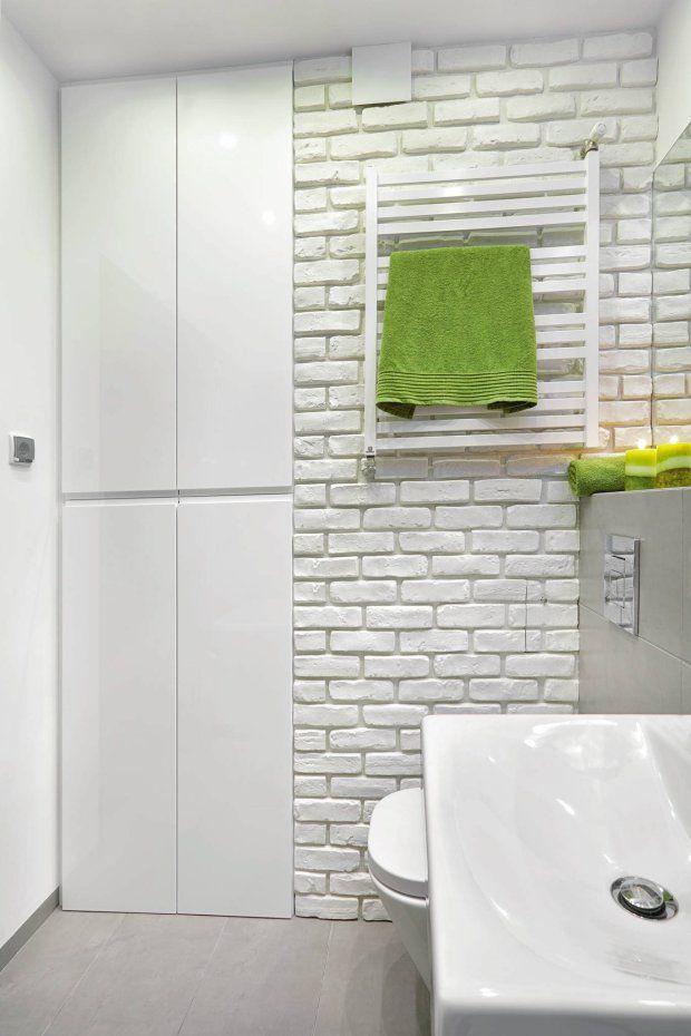 Zdjęcie numer 6 w galerii - Pomysłowa metamorfoza małej łazienki w bloku