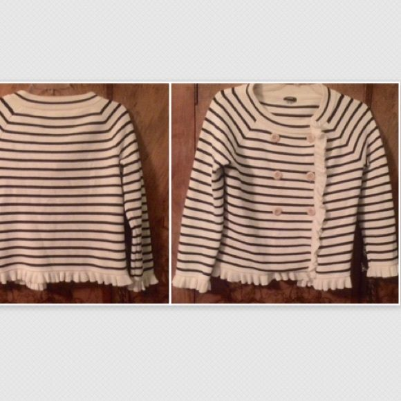 J. Crew nautical cardigan; S NWOT, no defects. J. Crew Sweaters Cardigans